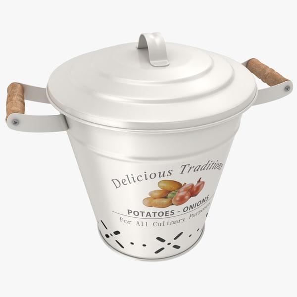 bucket potato model