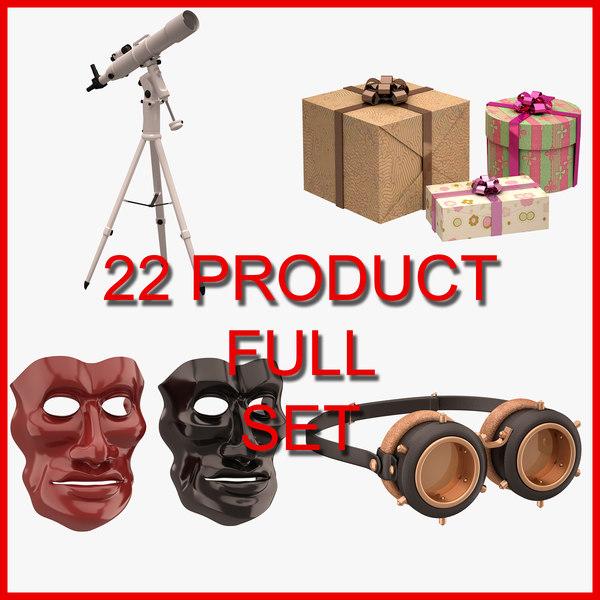 22 set 3D model