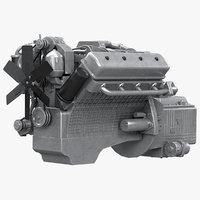 Diesel V8 Engine YaMZ