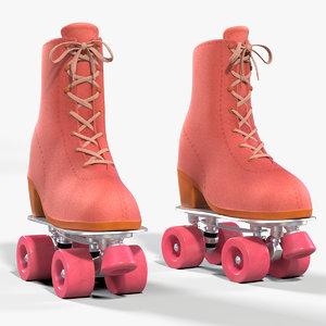 roller skates 3D model