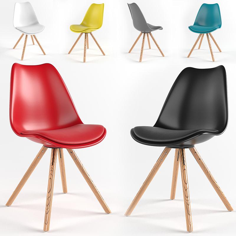 3D air chair model