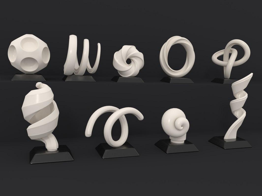 3D decorative figurines