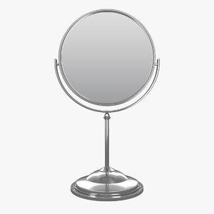 tabletop vanity mirror 3D model