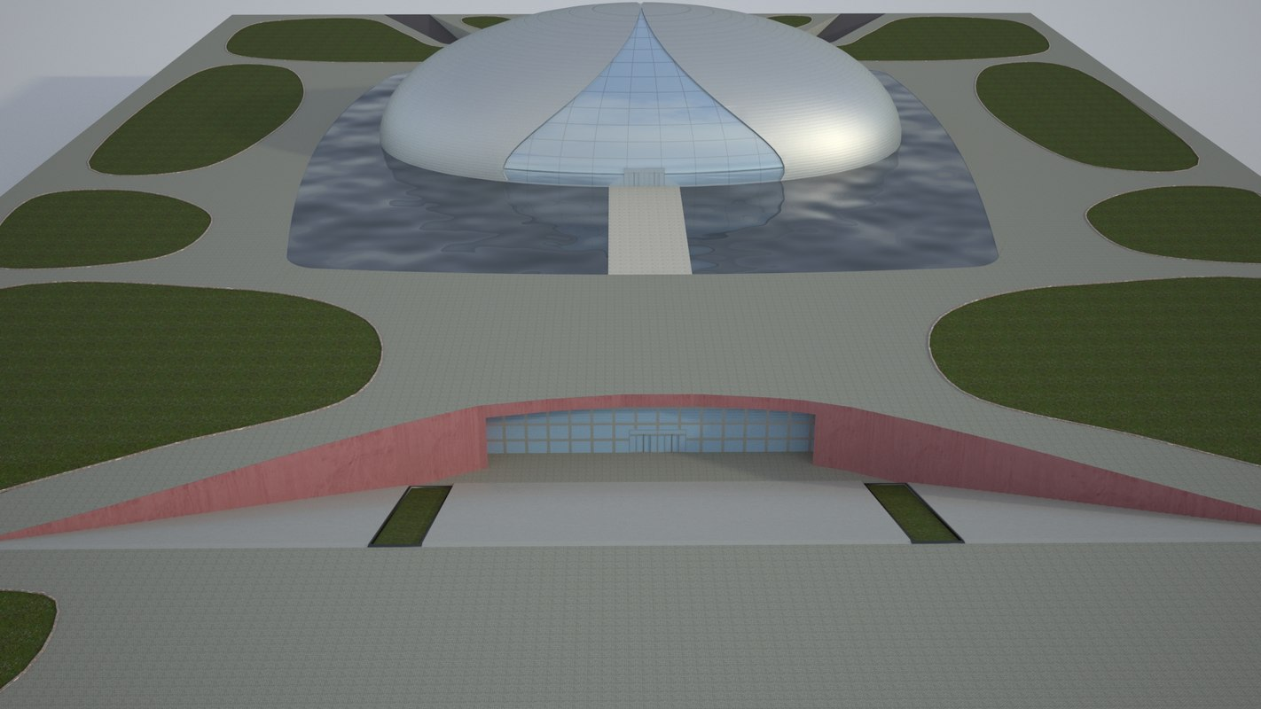 3D realistic national centre performing model