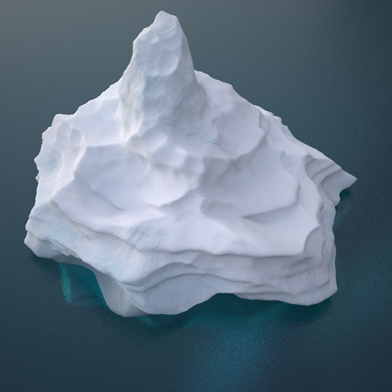iceberg h v1 3D