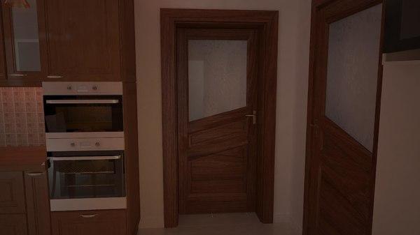 v-ray door 17 model