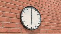 Simple classic wall clock