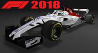 Formula 1 Sauber AlfaRomeo 2018 F1 C37