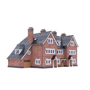 english brick house model