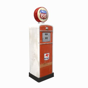 3D old fuel dispenser ii