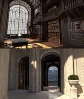 interior castle 2 pbr 3D model