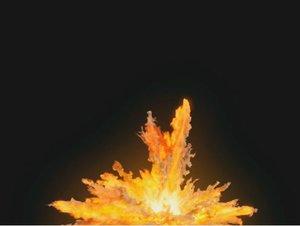 houdini explosion model