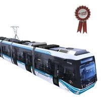 tram trolley train 3D model