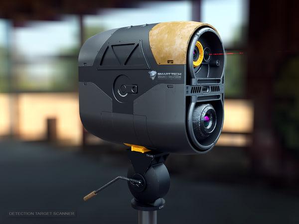 target scanner 3D