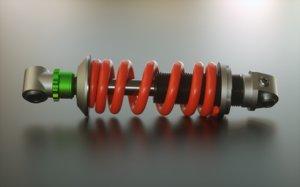 3D shock absorber