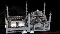 blue mosque model