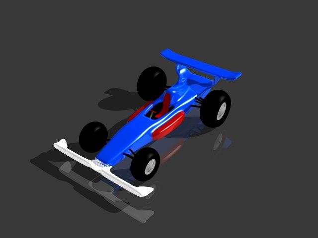 race car 3D
