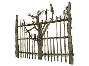 3D wooden gate - settlement