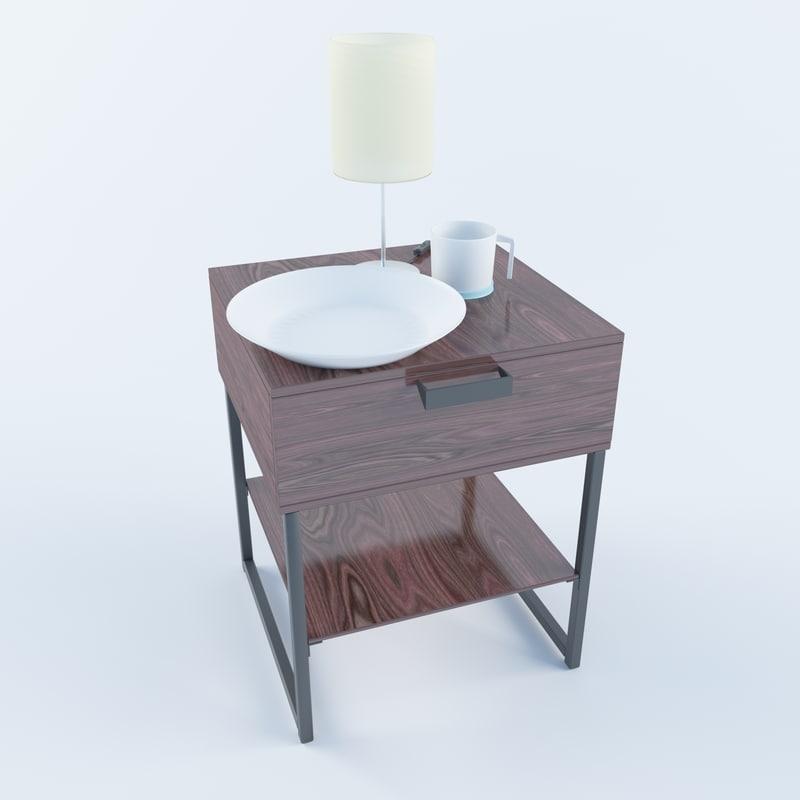 comodin bedroom 3D model