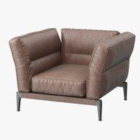 flexform adda armchair 3D