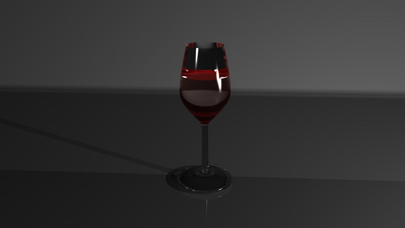 glass animation 3D