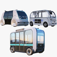 Electric Shuttle Buses Collection