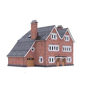 english brick house 3D