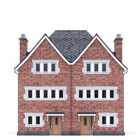 english brick house 3D model