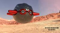 3D model fortress pokemon