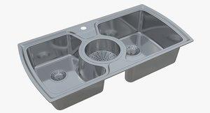 sink oulin ol-321 3D model