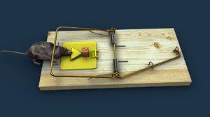rat trap 3D model