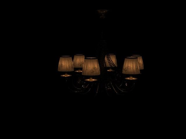 3D lamp home light model