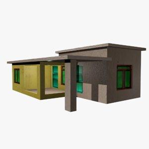 house residential 3D model