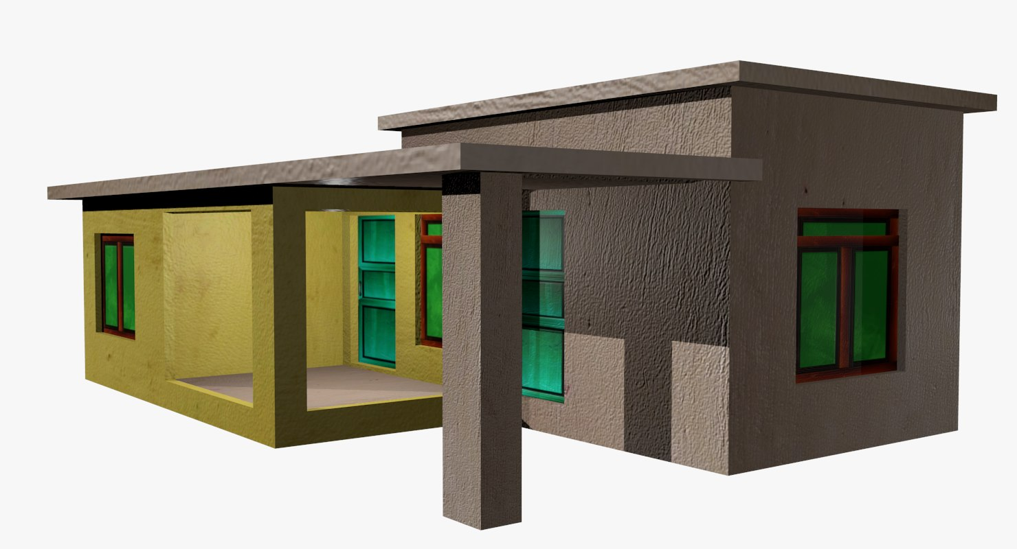 house residential 3D model