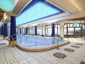 swimming pool interior 3D model