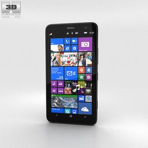 3D nokia lumia 1320