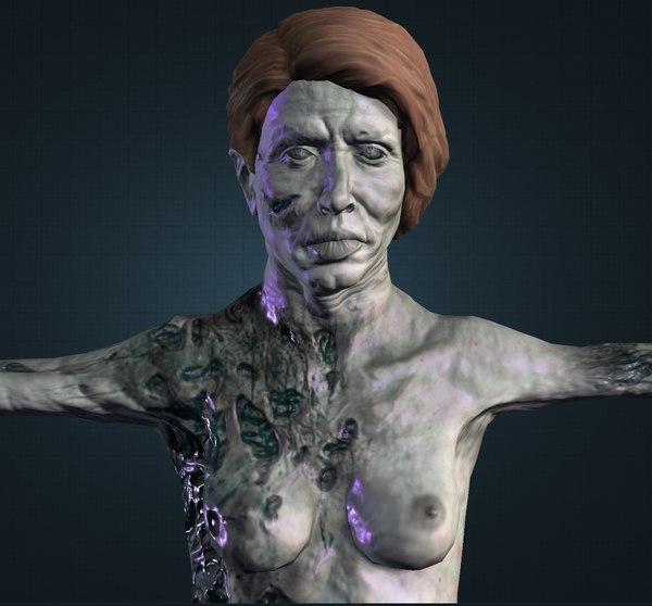 zombie man model