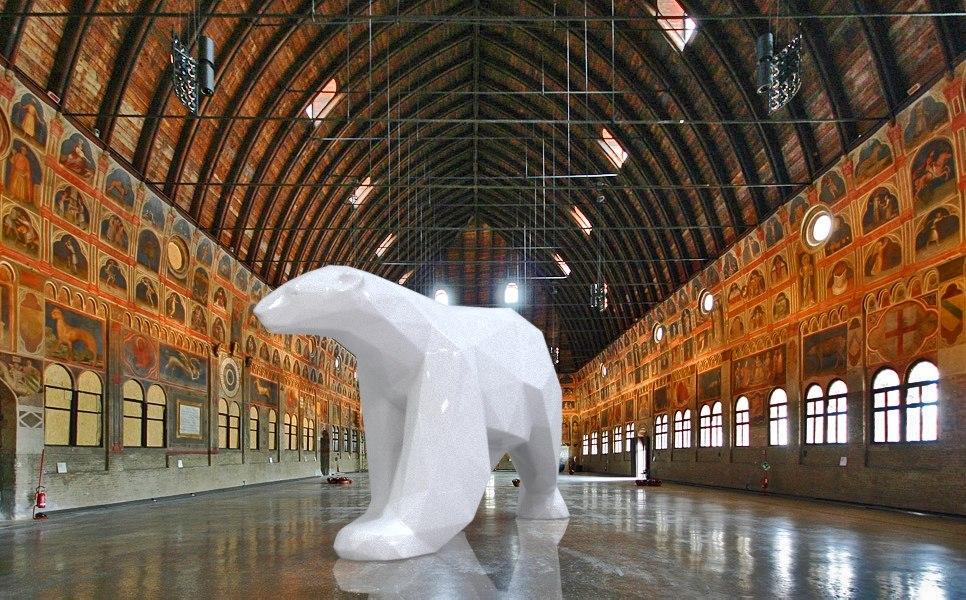 3D model polar bear printing