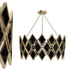 robert abbey edward chandelier 3D model