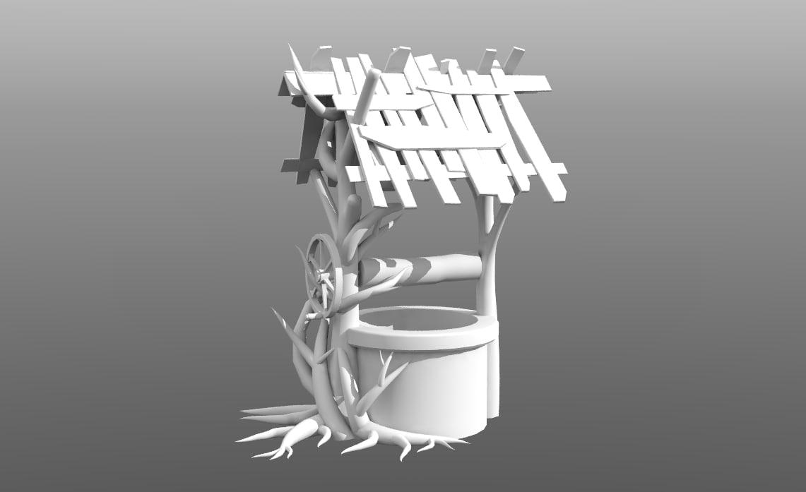 3D decrepit model
