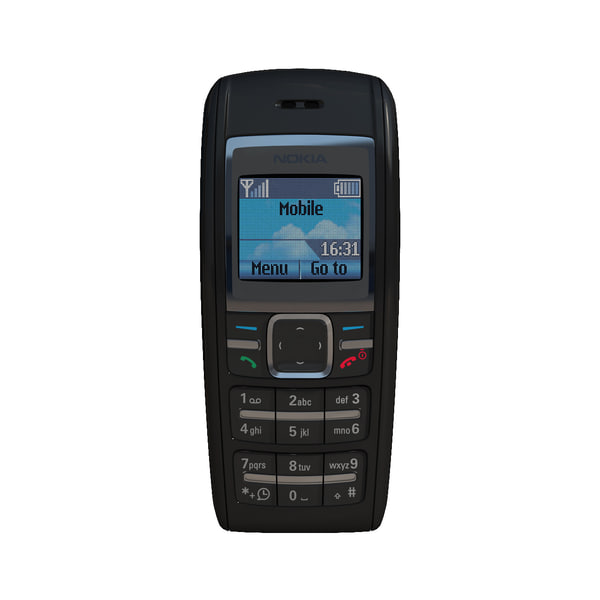 mobile phone nokia 1600 3D