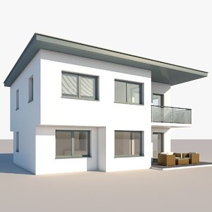 3D model apartment house