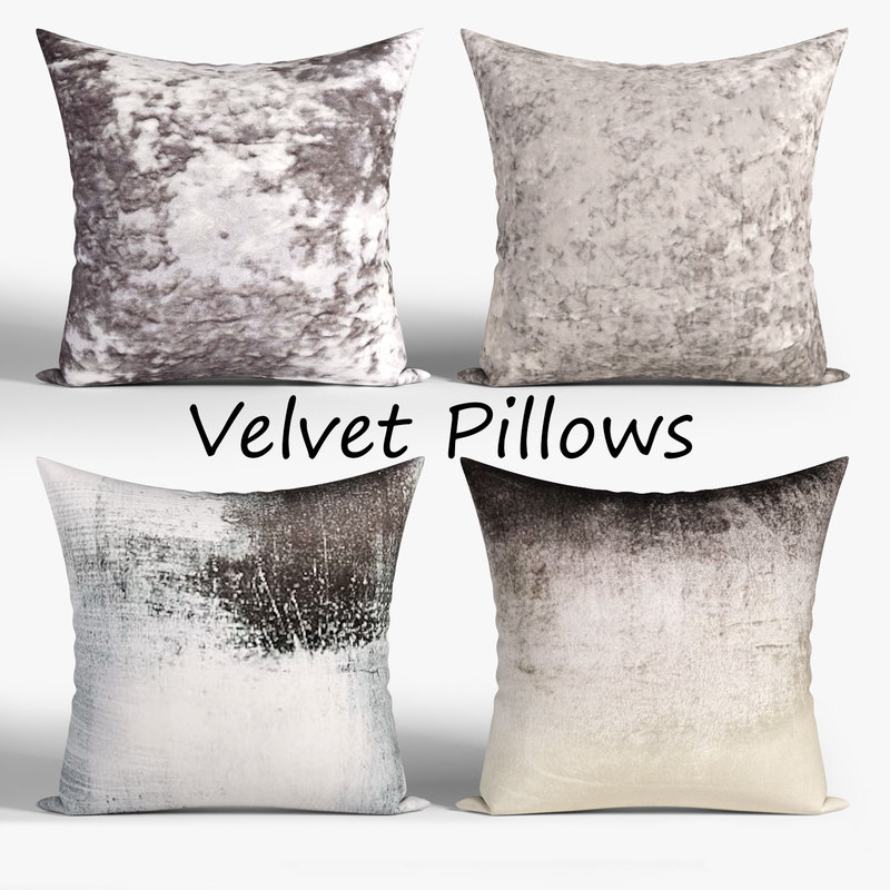 decorative pillows 3D