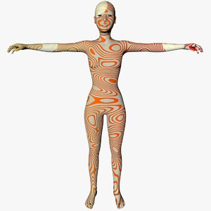 eva cuerpo las 3D model