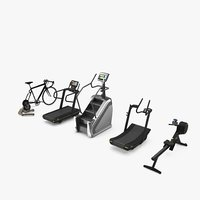 skill skillrow rowing skillmill 3D model