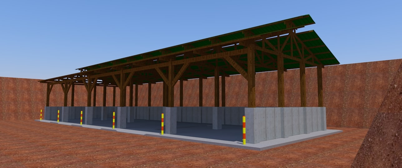 galpo shed 3D