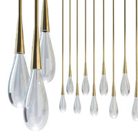 Suspended lamp pour lights by design haus liberty