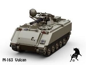 3D vulcan model