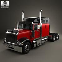 international 9900i tractor 3D