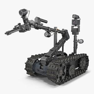 sapper robot rigged 3D